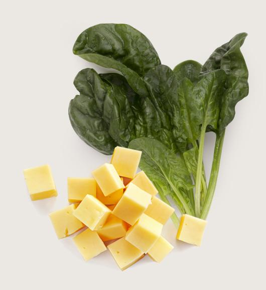 spinaci ai formaggi