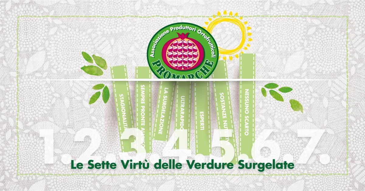 Le Sette Virtù delle Verdure Surgelate